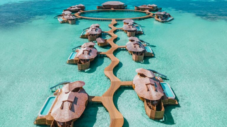 promoção maldivas Soneva Jani - Medhufaru Island Noonu Atoll, Maldivas